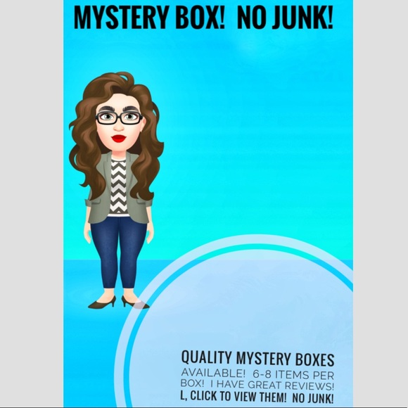 mystery box Other - Mystery Box Reseller Box nwt like new 6 to 8 items